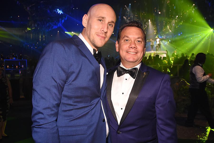Josh Wingate and Patrick Welborn at the 2016 Creative Arts Ball.