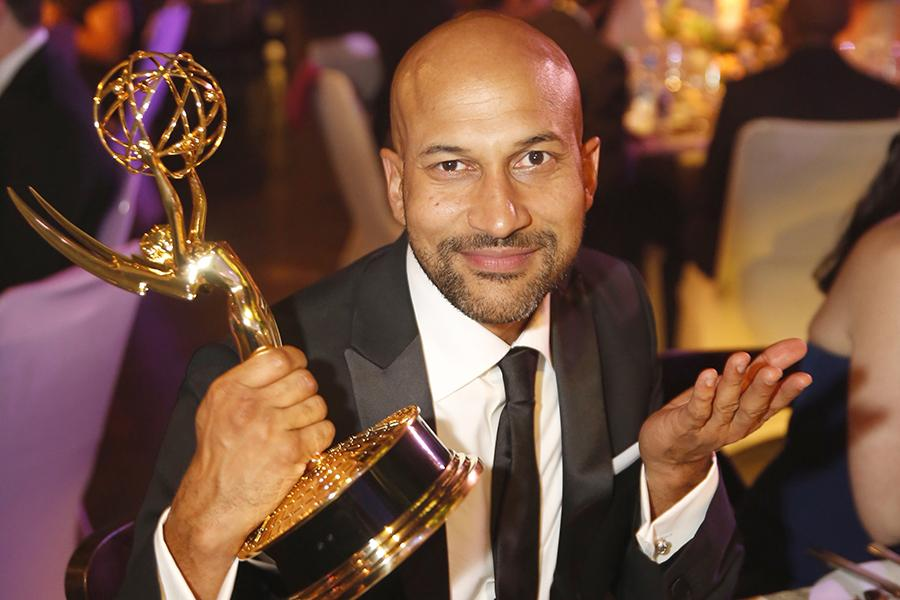 Keegan-Michael Key at the 2016 Creative Arts Ball.