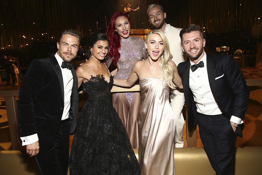 Choreographers from Dancing with the Stars & So You Think You Can Dance at the Creative Arts Ball.