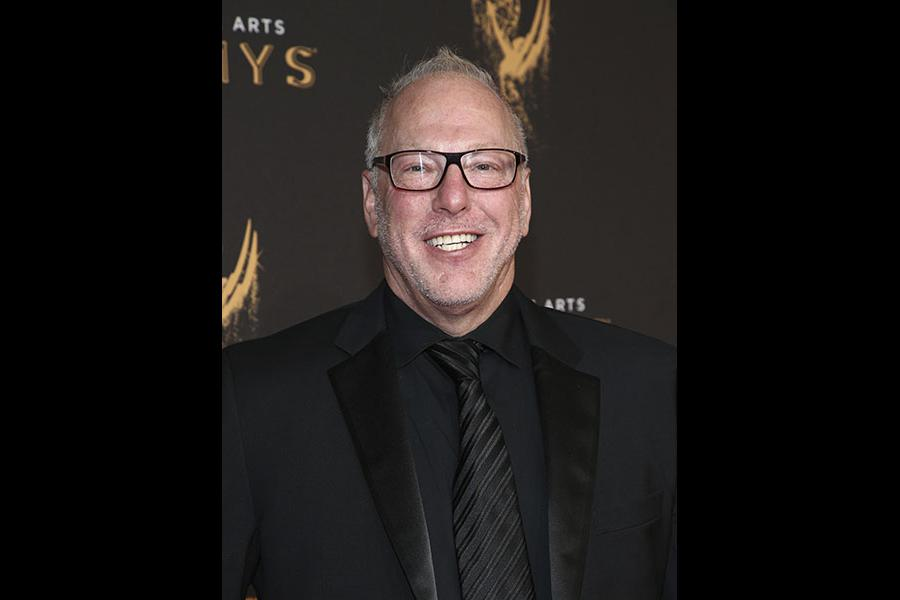 Mark Blutman on the red carpet at the 2017 Creative Arts Emmys.