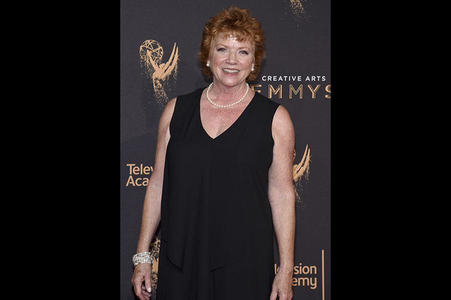 Becky Ann Baker on the red carpet at the 2017 Creative Arts Emmys.