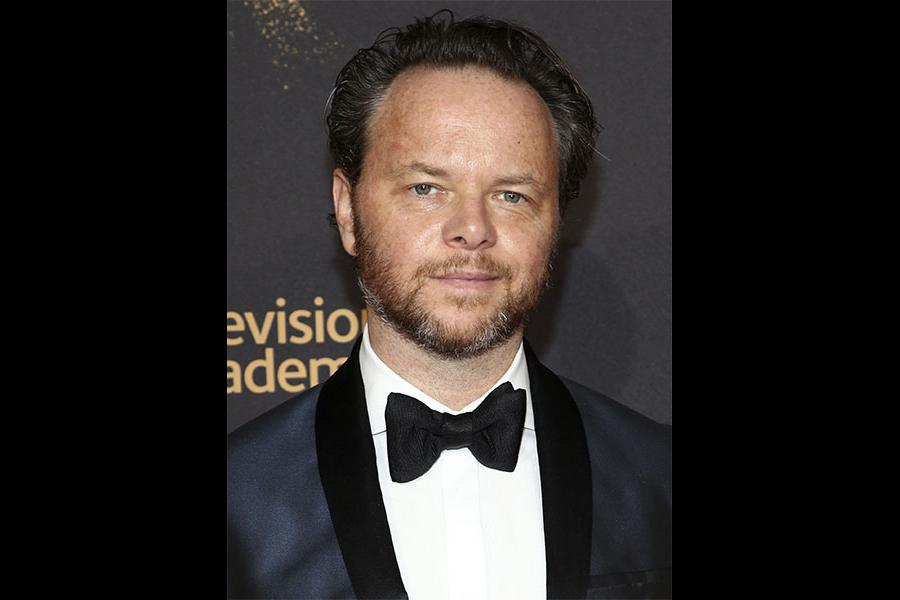 Noah Hawley on the red carpet at the 2017 Creative Arts Emmys.