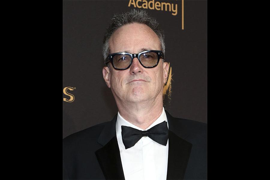 John Cameron on the red carpet at the 2017 Creative Arts Emmys.