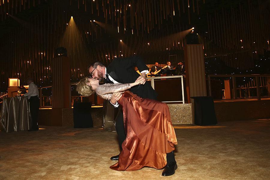 Dancers perform at the 2017 Creative Arts Ball.