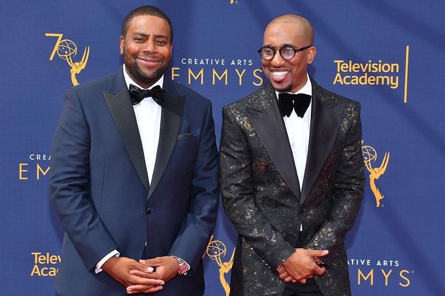 Kenan Thompson and Chris Redd
