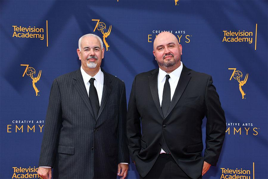 Steven Reich and Kico Velarde