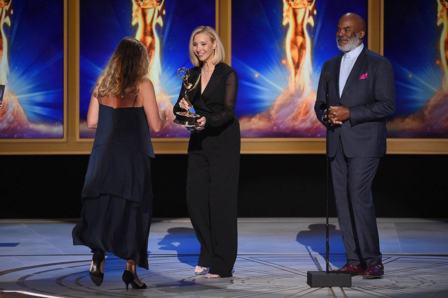Lisa Kudrow, David Alan Grier and Ellen Kuras