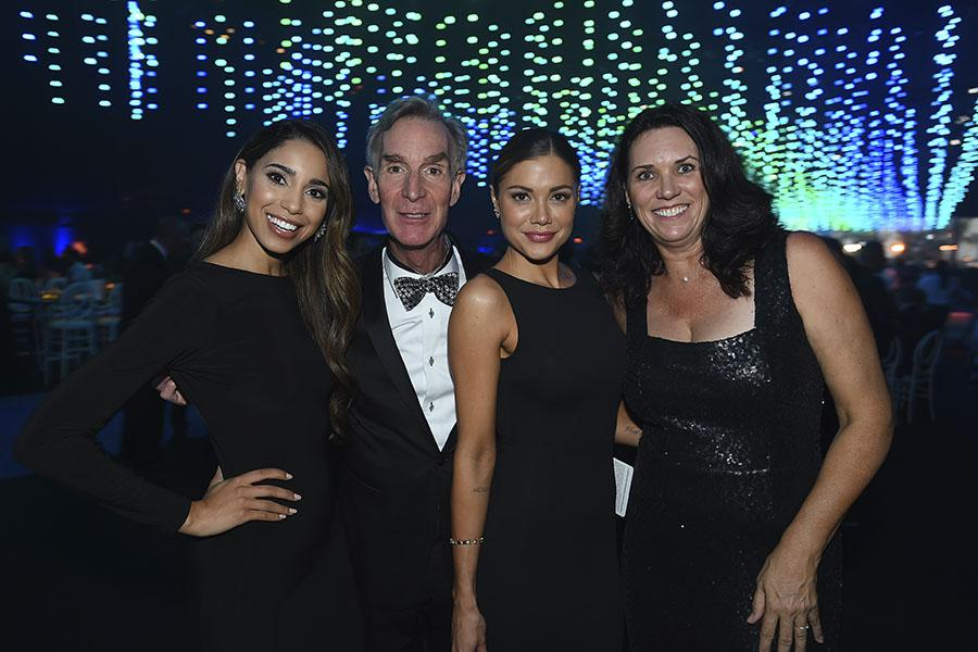 Brittany McGowan, Bill Nye, Hilary Cruz, Cathy Cruise