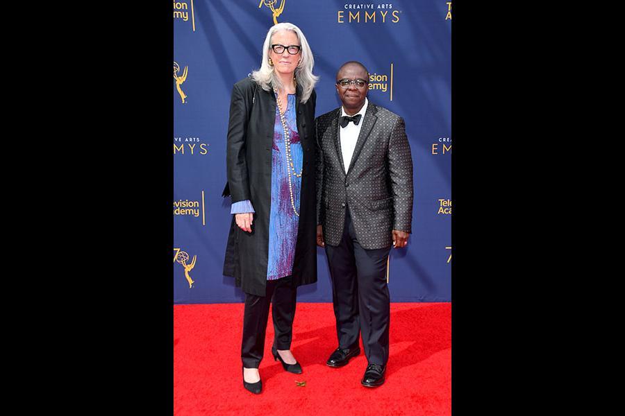 Joslyn Barnes and Yance Ford