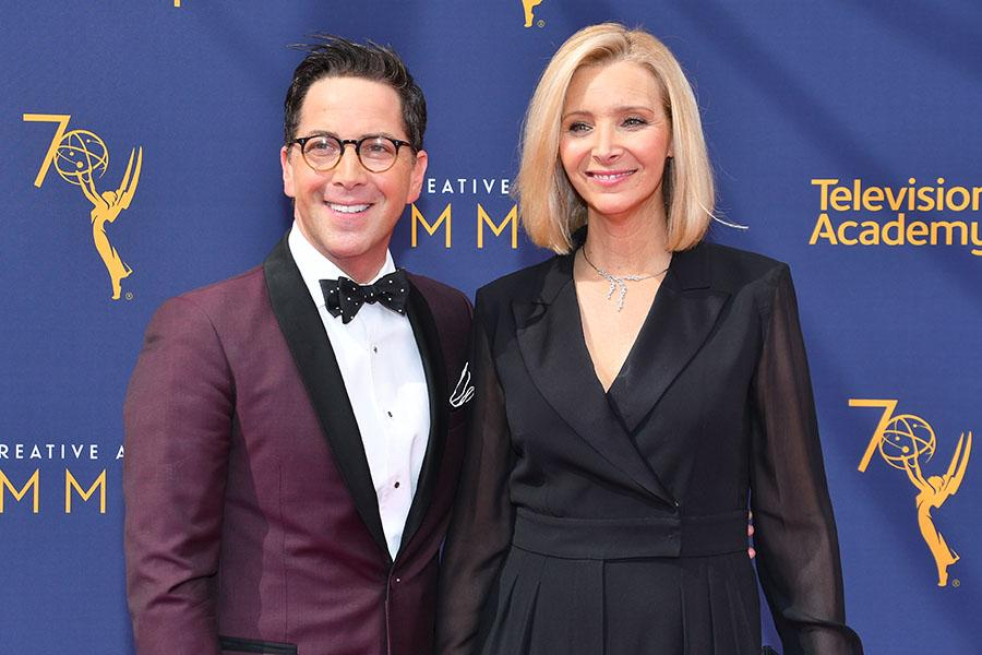 Dan Bucatinsky and Lisa Kudrow
