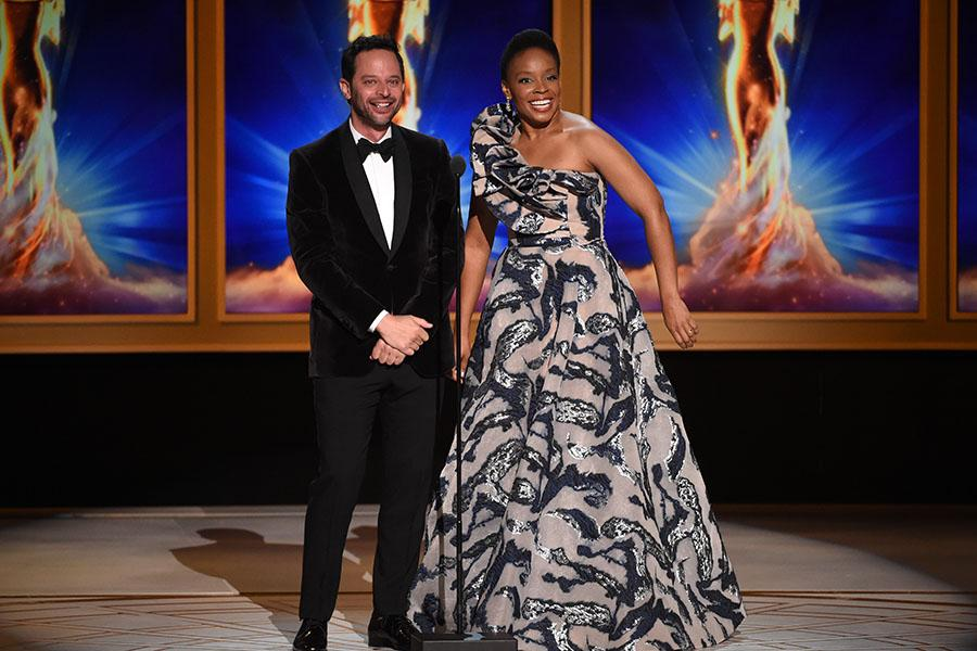 Nick Kroll and Amber Ruffin