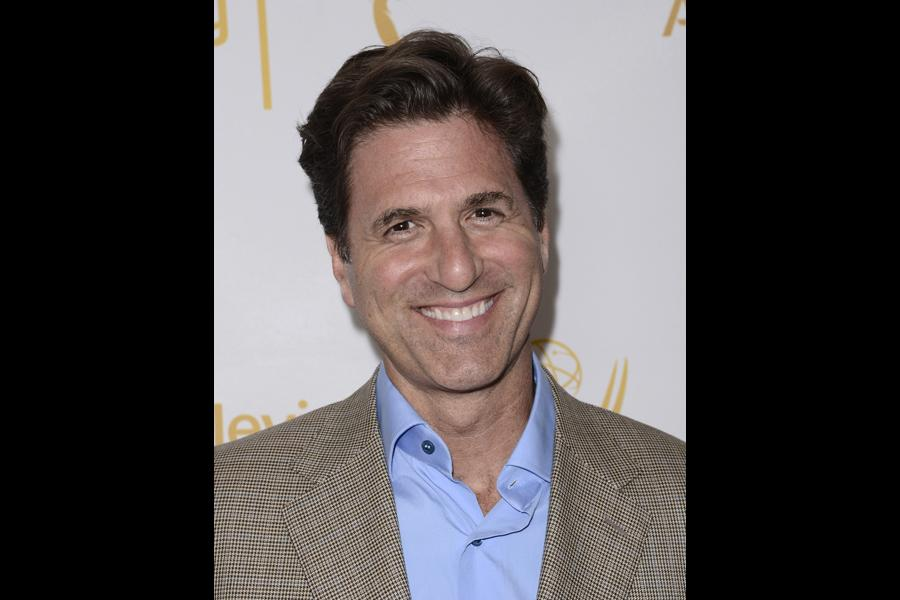 Steve Levitan arrives at the Producers nominee reception.