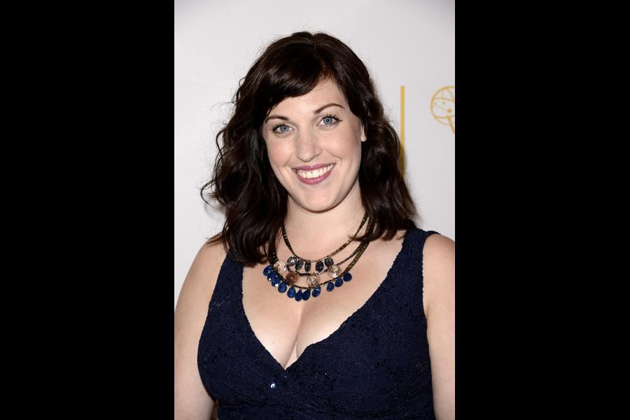 Allison Tolman of Fargo arrives at the Producers nominee reception.