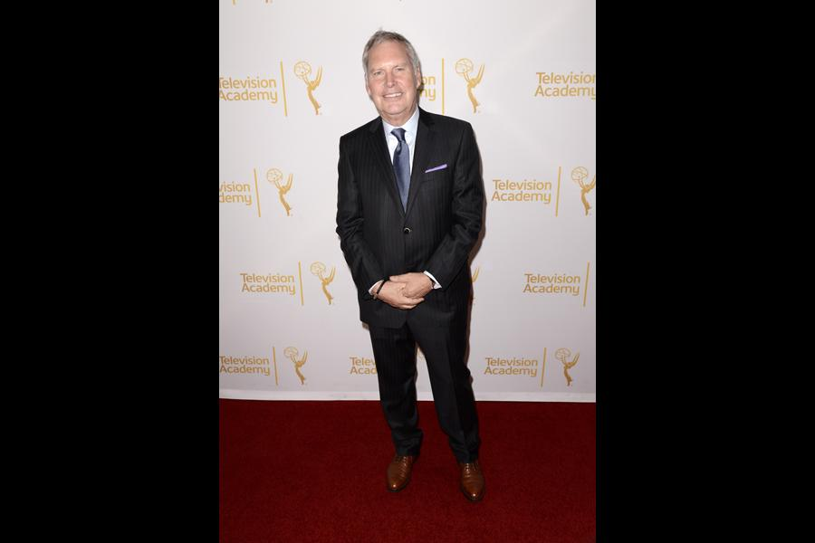 Iain Paterson of House of Cards arrives Producers Nominee Reception.