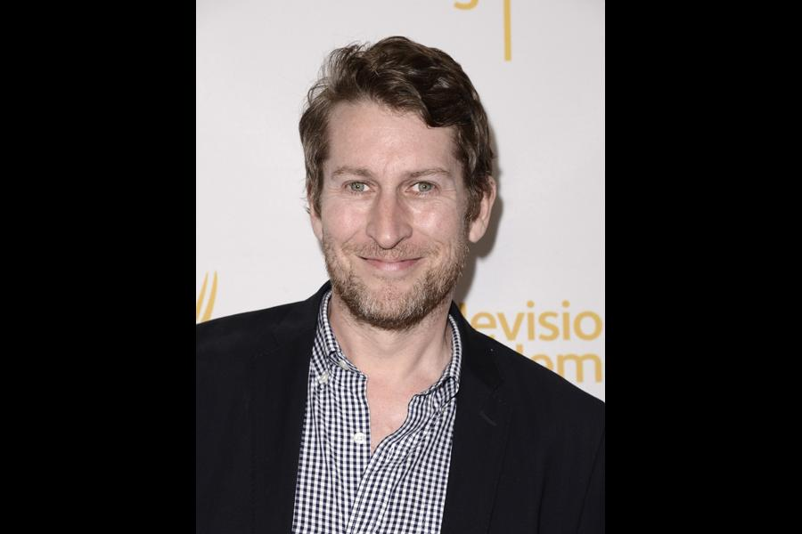 Scott Aukerman arrives at the Producers Nominee Reception.