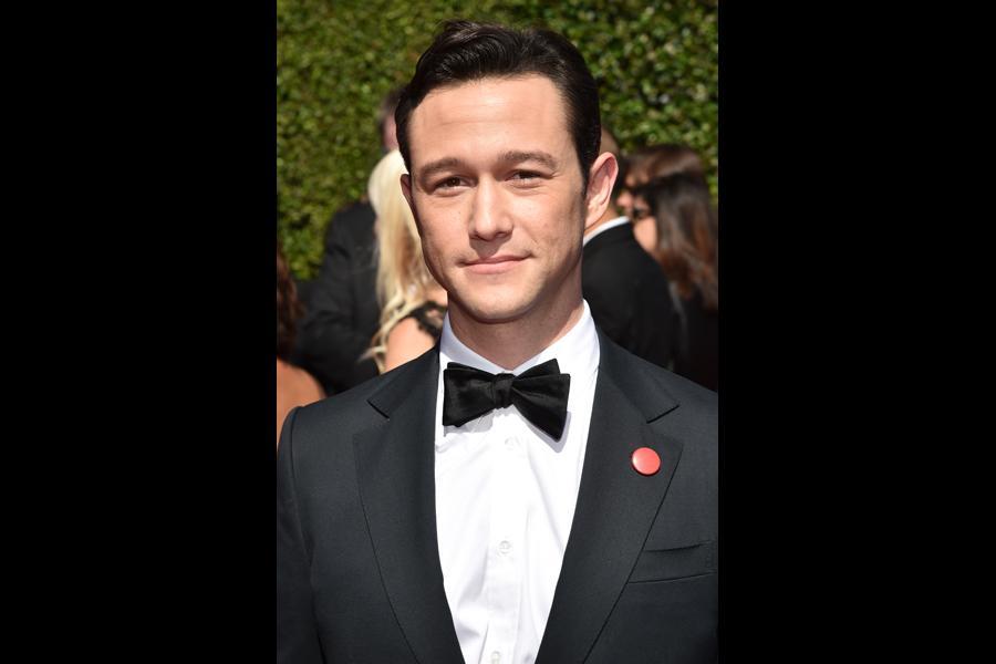Joseph Gordon-Levitt of HitRecord arrives for the 2014 Primetime Creative Arts Emmys.