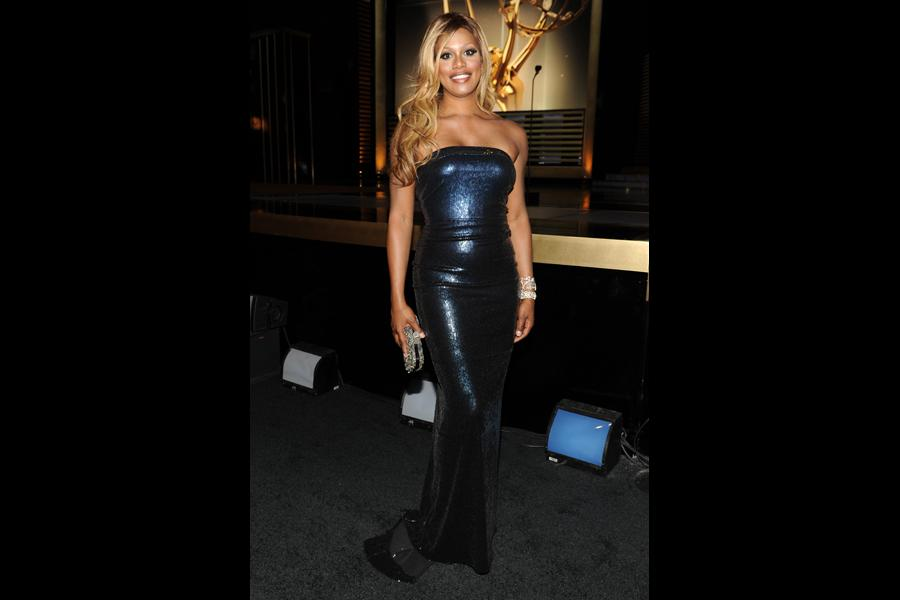 Laverne Cox at the 2014 Primetime Creative Arts Emmys.