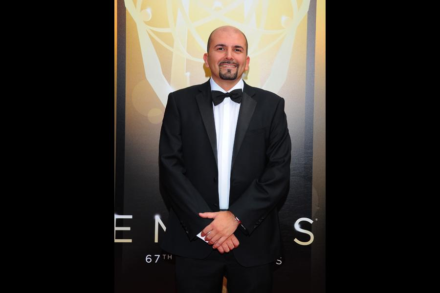 Maurizio Malagnini on the Red Carpet at the 2015 Creative Arts Emmys.
