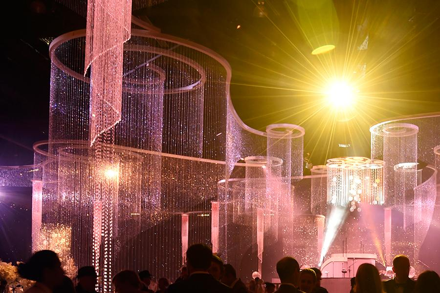 A view of the 2015 Creative Arts Ball.
