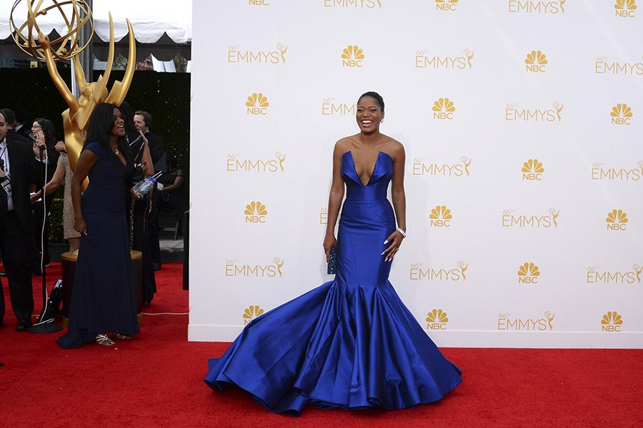 Keke Palmer of Masters of Sex arrives at the 66th Emmys.