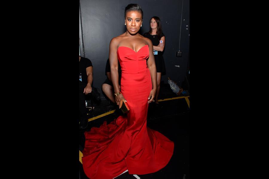 Uzo Aduba of Orange Is the New Black at the 66th Emmy Awards.