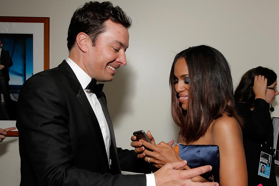 Jimmy Fallon, Kerry Washington