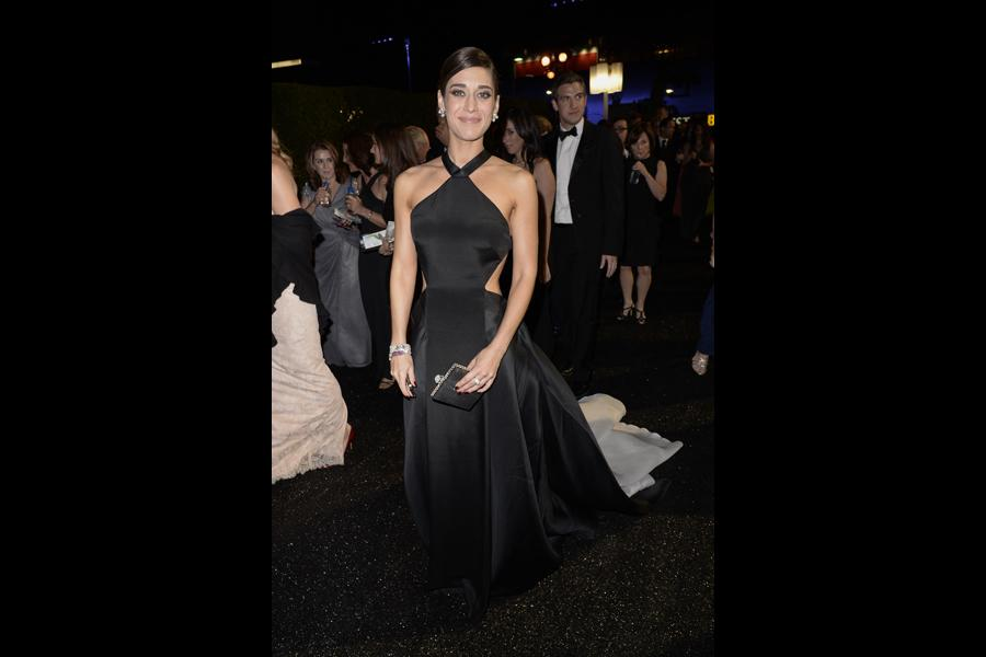 Lizzy Caplan of Masters of Sex at the 66th Emmys Governors Ball.