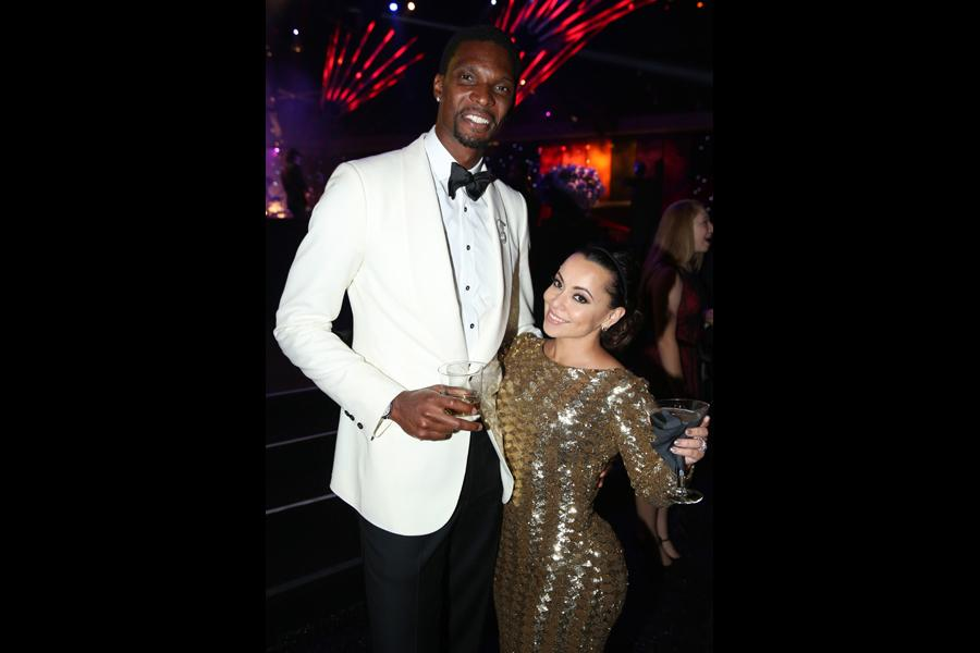 Chris Bosh, Adrienne Williams Bosh