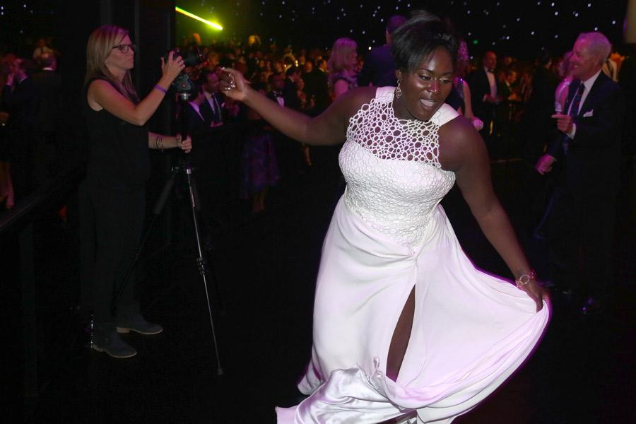 Danielle Brooks of Orange Is The New Black at the 66th Emmys Governors Ball.