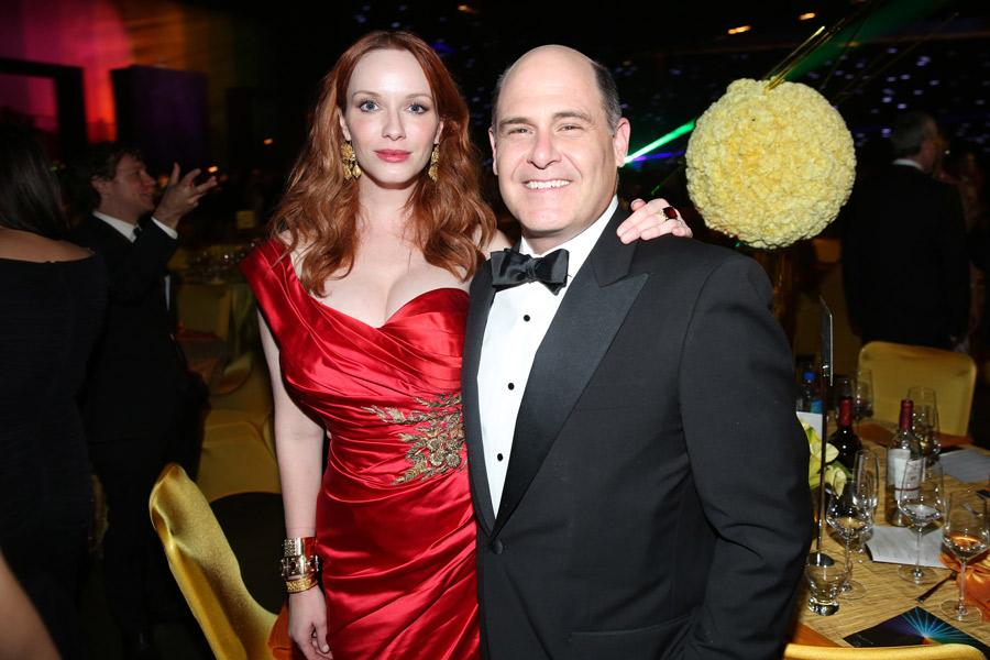 Christina Hendricks, Matthew Weiner