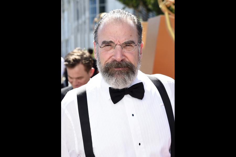 Mandy Patinkin on the red carpet at the 67th Emmy Awards.