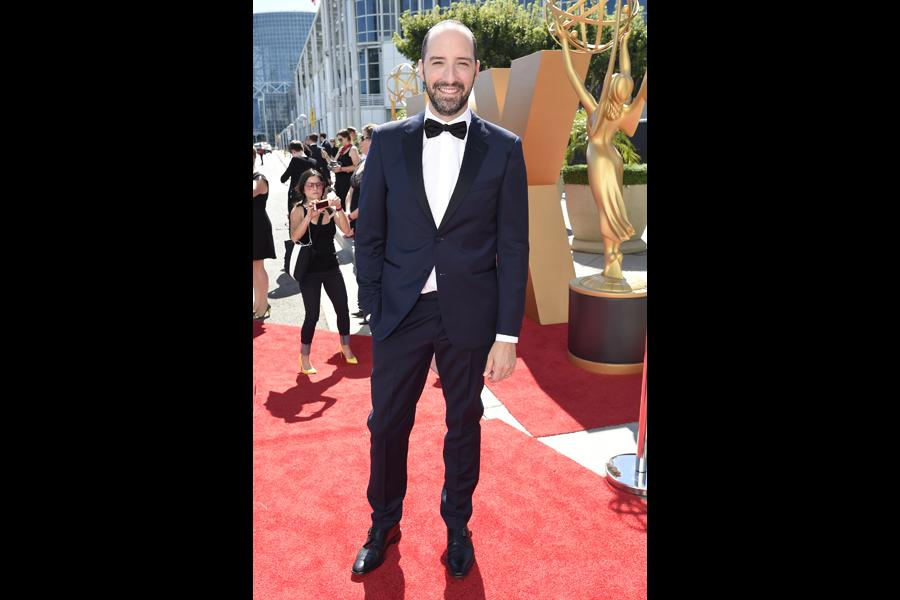 Tony Hale on the red carpet at the 67th Emmy Awards.