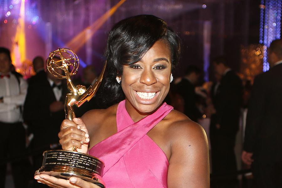 Uzo Aduba at the 67th Emmys Governors Ball.