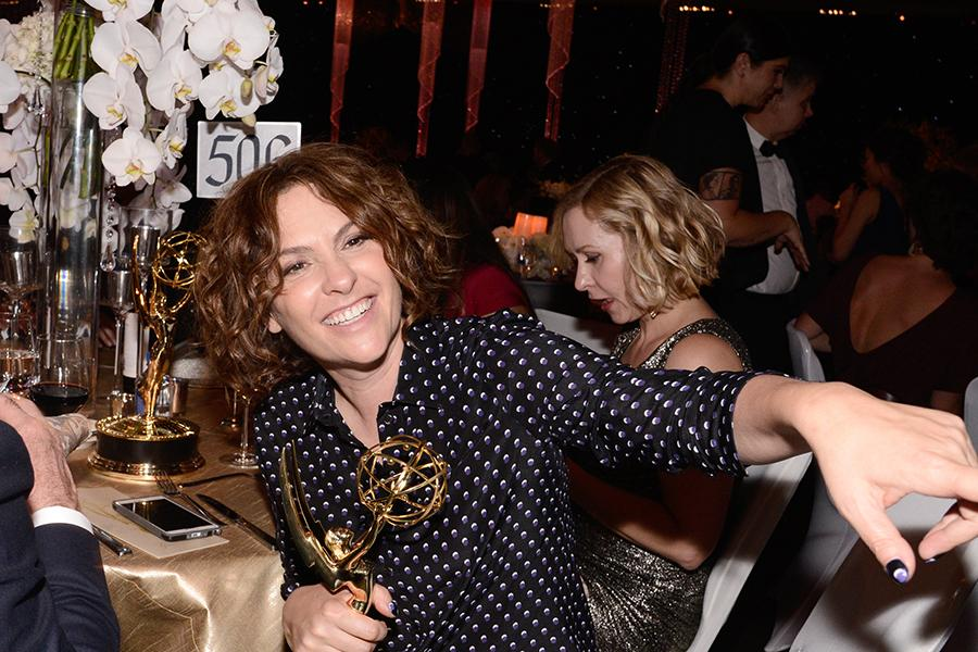 Jill Soloway at the 67th Emmys Governors Ball.