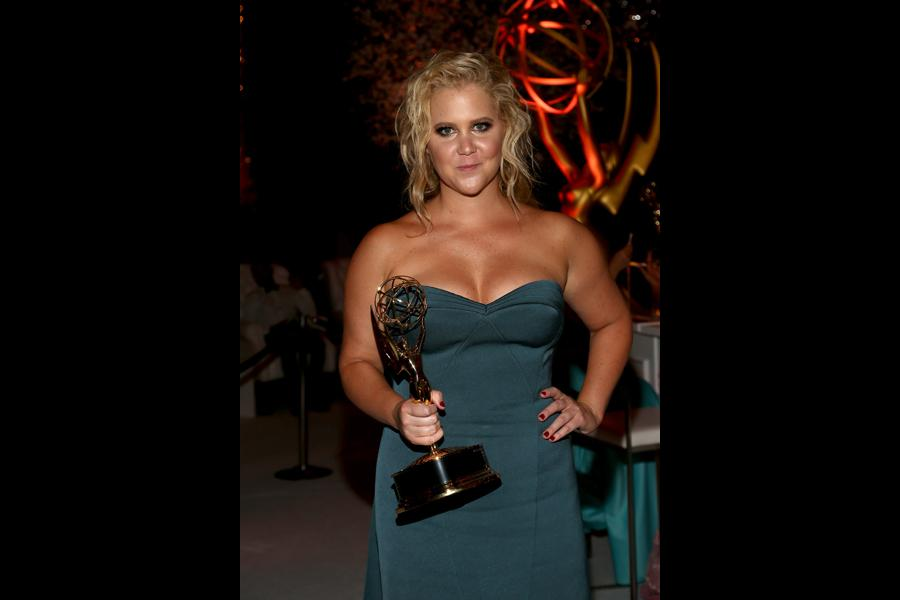 Amy Schumer at the 67th Emmys Governors Ball.