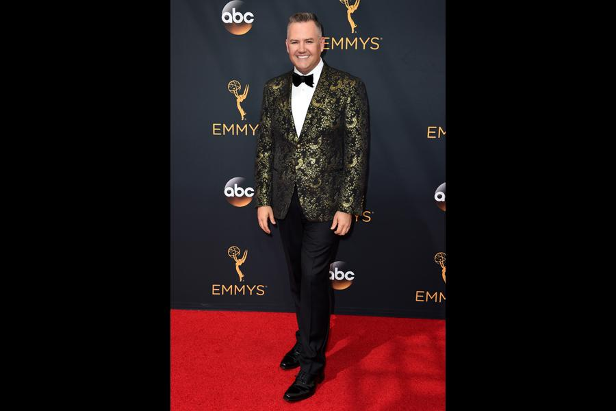 Ross Mathews on the red carpet at the 2016 Primetime Emmys.