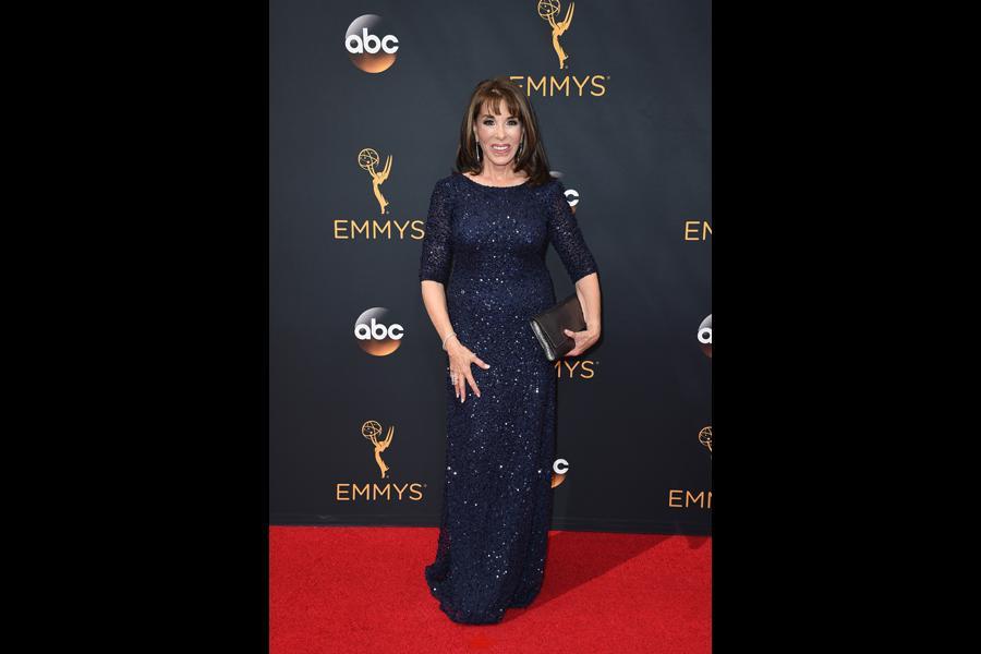 Kate Linder on the red carpet at the 2016 Primetime Emmys.