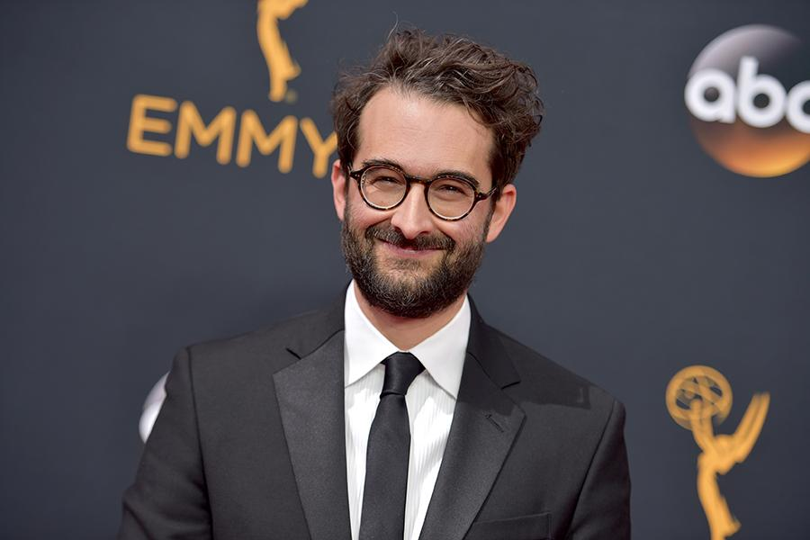 Jay Duplass on the red carpet at the 2016 Primetime Emmys.