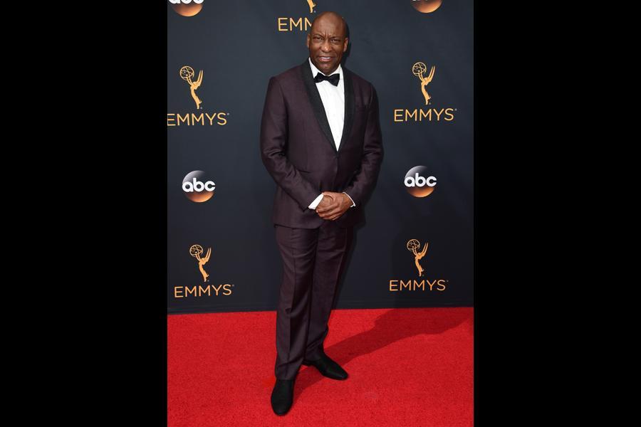 John Singleton on the red carpet at the 2016 Primetime Emmys.