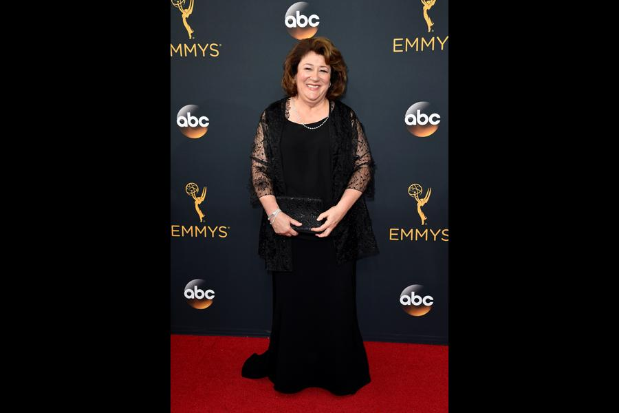 Margo Martindale on the red carpet at the 2016 Primetime Emmys.