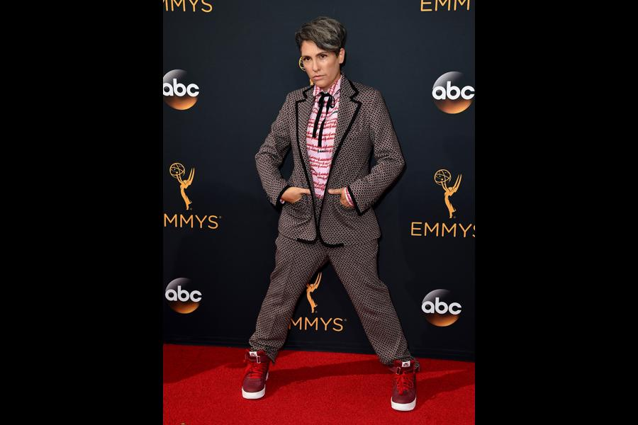 Jill Soloway on the red carpet at the 2016 Primetime Emmys.