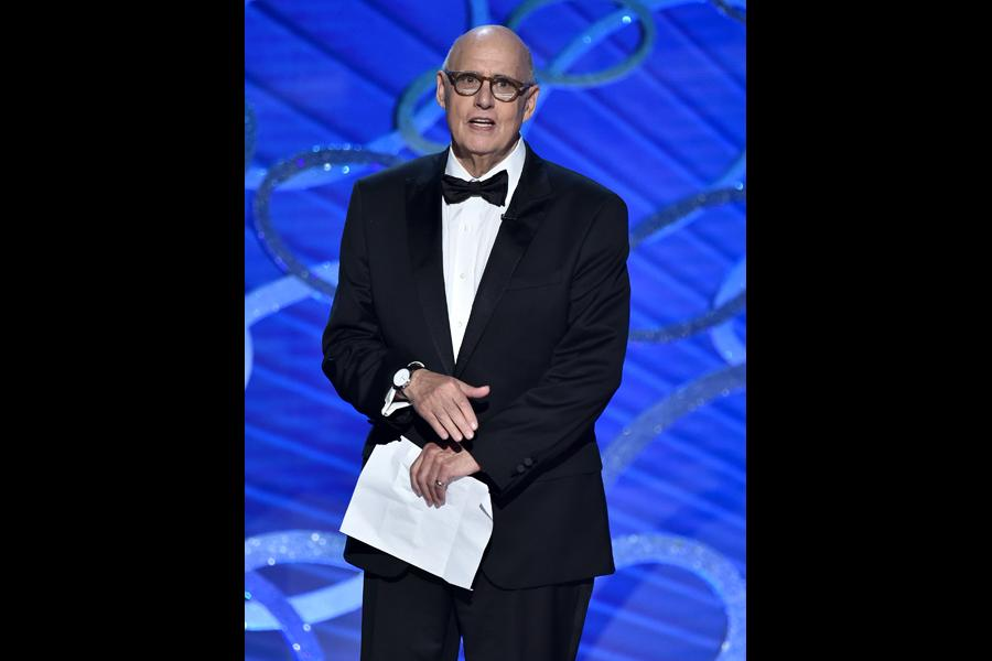 Jeffrey Tambor presents at the 2016 Primetime Emmys.
