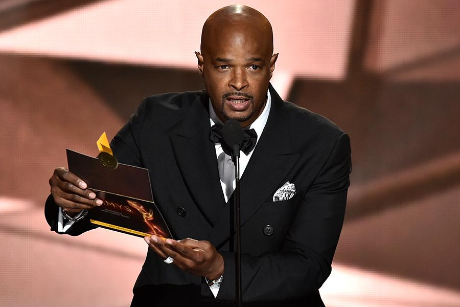 Damon Wayans presents an award at the 2016 Primetime Emmys.