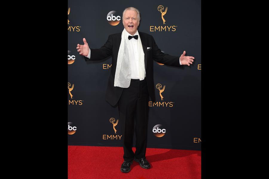Jon Voight on the red carpet at the 2016 Primetime Emmys.