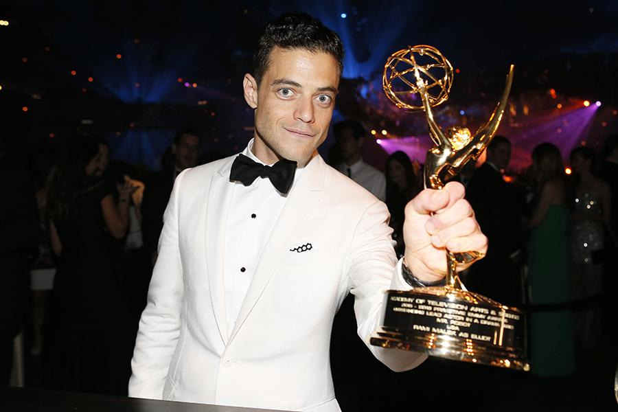 Rami Malek at the 68th Emmys Governors Ball.