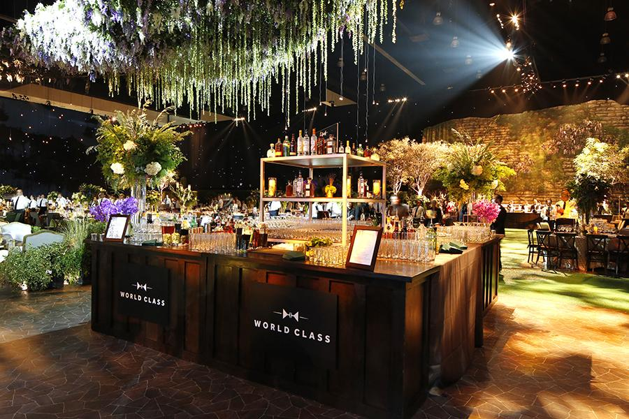 The bar at the 68th Emmys Governors Ball.