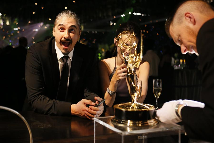 Mike Yurchuk at the 68th Emmys Governors Ball.