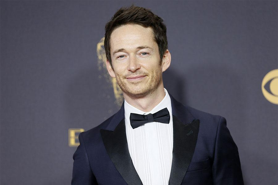 Simon Quarterman on the red carpet at the 69th Primetime Emmy Awards