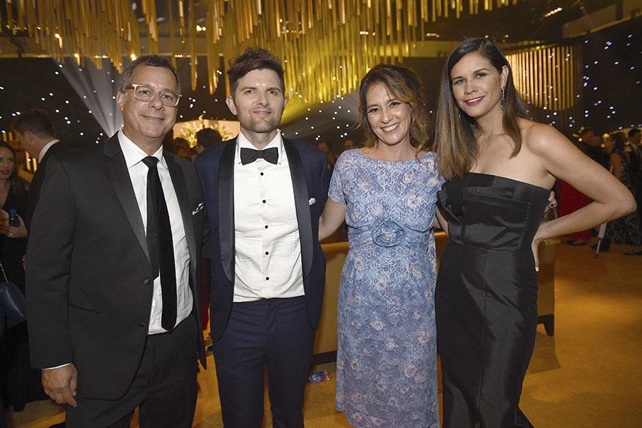 Adam Scott at the 69th Emmy Awards Governors Ball.