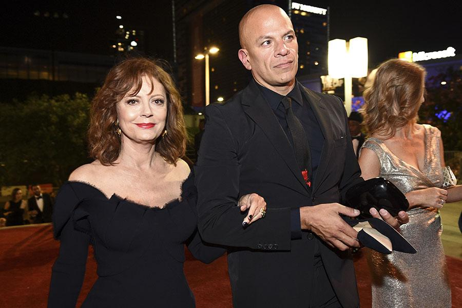 Susan Sarandon at the 69th Emmy Awards Governors Ball.